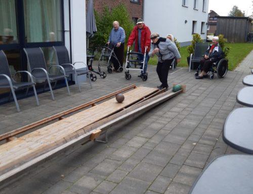 Kegel-und Klüterwoche in unserer Seniorenresidenz Moordorf der Peter Janssen Gruppe