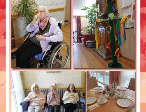 Maibäumchen für das PflegeZentrum Emden
