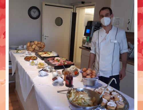 Mitarbeiterfrühstück in der Seniorenresidenz Moordorf