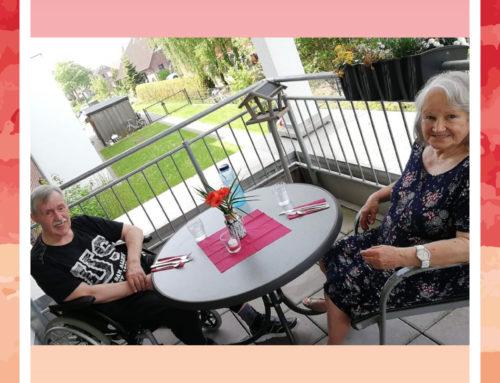 Wahre Freundschaft in der Seniorenresidenz Moordorf