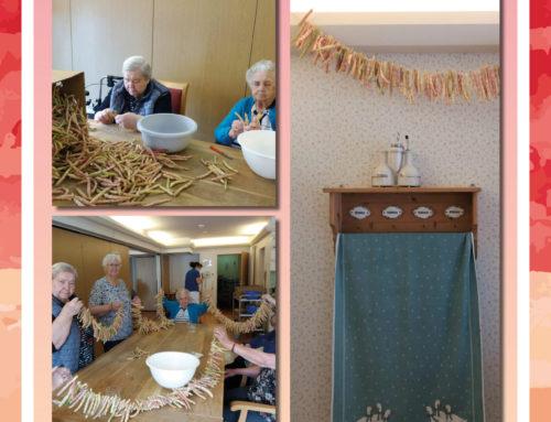 Traditionelles Essen in der Seniorenresidenz Vogskampen