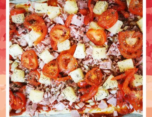 Leckere Pizza für die Bewohner der Residenz zwischen den Auen