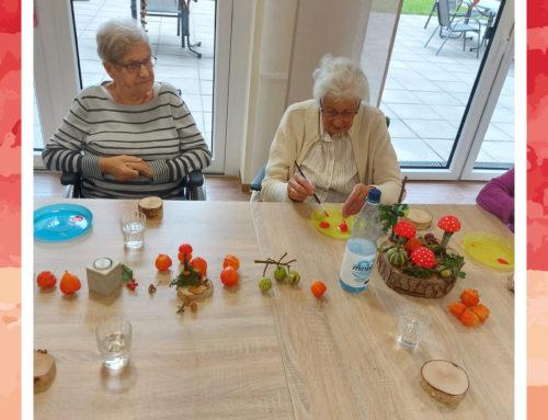 Neue Tischdeko für den Seniorenwohnpark Papenburg